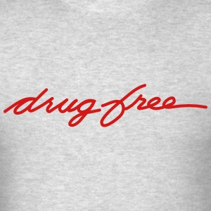 Drug Free T-Shirts - Men's T-Shirt