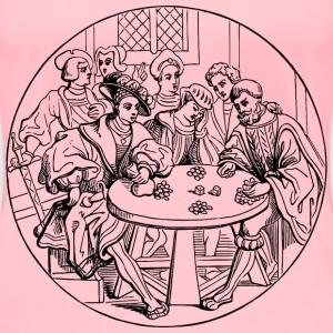 16th century gambling - Women's Premium T-Shirt