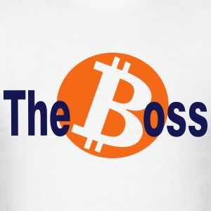 The bitcoin Bos - Men's T-Shirt