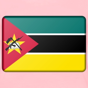 Mozambique flag (bevelled) - Women's Premium T-Shirt