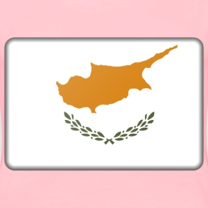 Cyprus flag (bevelled) - Women's Premium T-Shirt