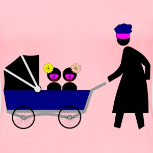 Baby Carriage (Pedestrian) - Women's Premium T-Shirt