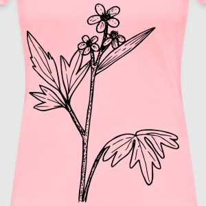 wood buttercup - Women's Premium T-Shirt