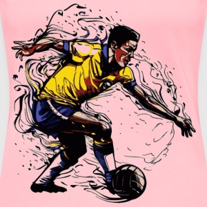 Brazil Player 3 - Women's Premium T-Shirt