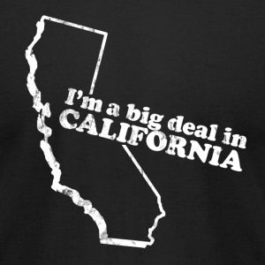 CALIFORNIA STATE SLOGAN T-Shirts - Men's T-Shirt by American Apparel