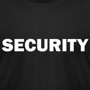 Security - Men's T-Shirt by American Apparel