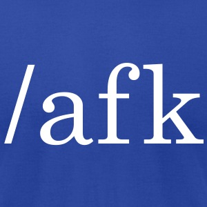 AFK - Away From Keyboard - Men's T-Shirt by American Apparel