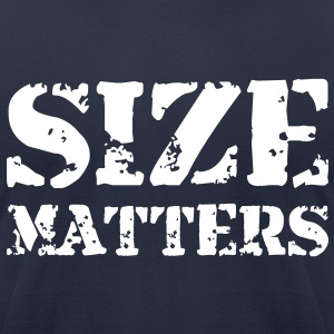 Size matters - Men's T-Shirt by American Apparel