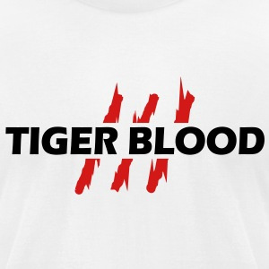 Tiger blood - Men's T-Shirt by American Apparel