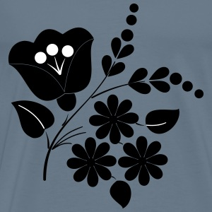 Flower ornament folk art - Men's Premium T-Shirt