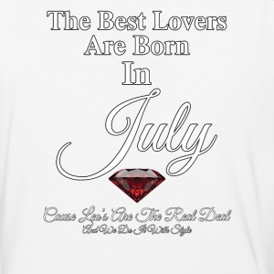 Best Lovers Born In JULY Mens Baseball T-Shirt - Baseball T-Shirt