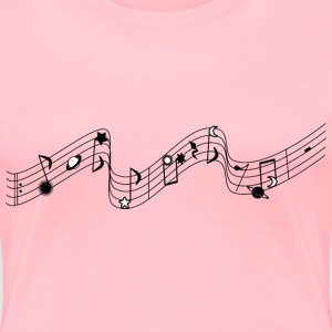 Musical stars - Women's Premium T-Shirt
