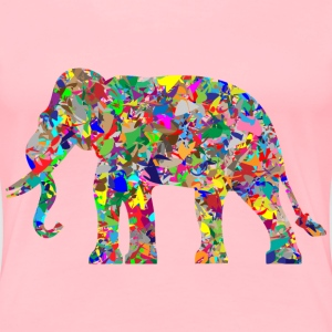 Modern Art Elephant - Women's Premium T-Shirt