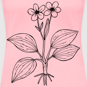 Plantainleaved buttercup - Women's Premium T-Shirt