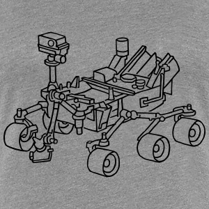Curiosity, the Marsrover - Women's Premium T-Shirt