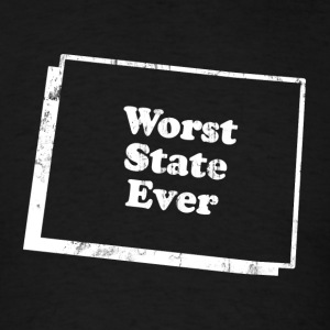 COLORADO - WORST STATE EVER T-Shirts - Men's T-Shirt