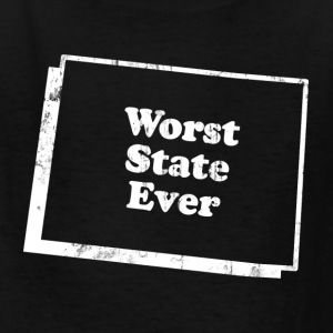 COLORADO - WORST STATE EVER Kids' Shirts - Kids' T-Shirt
