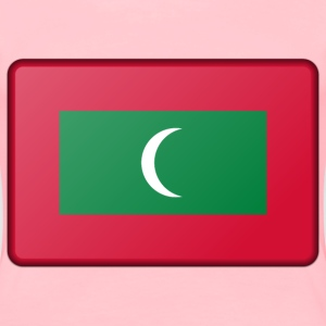Maldives flag (bevelled) - Women's Premium T-Shirt