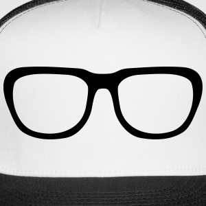 Nerd glasses, geek glasses (cheap!) Sportswear - Trucker Cap