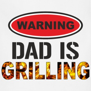 Dad Is Grilling - Adjustable Apron