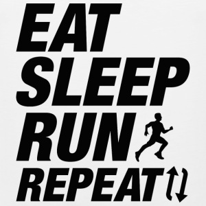 Eat Sleep Run Repeat - Men's Premium Tank