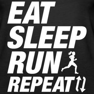 Eat Sleep Run Repeat - Women's Premium Tank Top