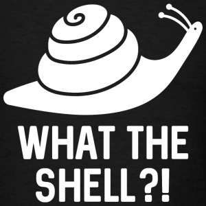 What The Shell?! - Men's T-Shirt
