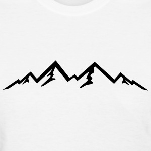 Mountains, Mountain (super cheap!) T-Shirts - Women's T-Shirt