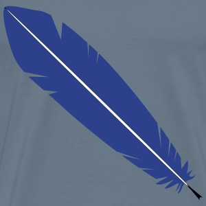 Feather Pen - Men's Premium T-Shirt