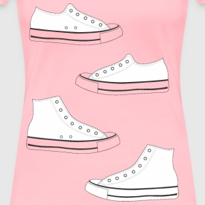 Canvas Shoes - Women's Premium T-Shirt