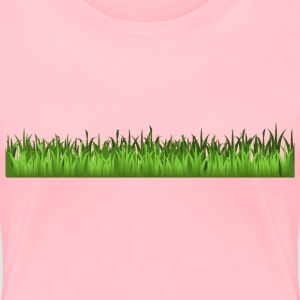 Grass - Women's Premium T-Shirt