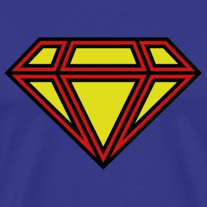 Diamond Superman - Men's Premium T-Shirt
