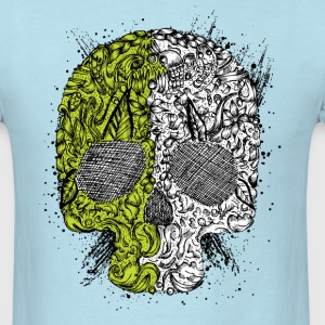 Nature's Skull - Men's T-Shirt