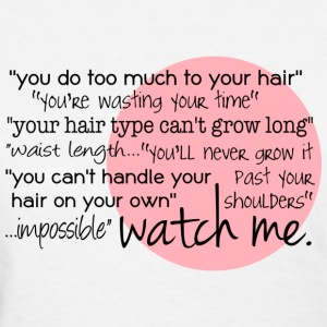 Watch Me Length Check T-Shirt - Women's T-Shirt
