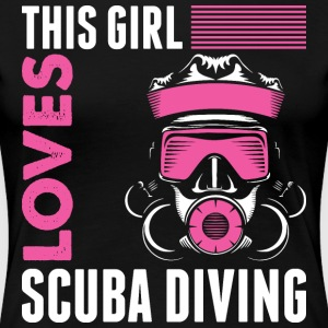 This Girl Loves Scuba Diving T-Shirts - Women's Premium T-Shirt
