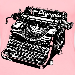 typewriter - Women's Premium T-Shirt