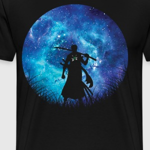 Hunter Silhouette Zoro - Men's Premium T-Shirt