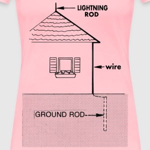 Lightning rod - Women's Premium T-Shirt