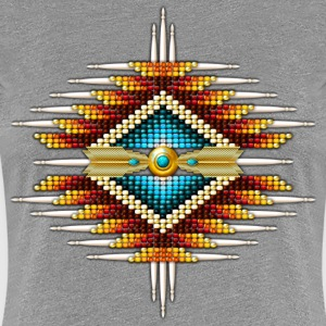 Native American Beadwork 19 - Women's Premium T-Shirt