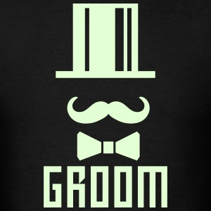 Groom Bachelor Party Face Cylinder deluxe T-Shirt - Men's T-Shirt