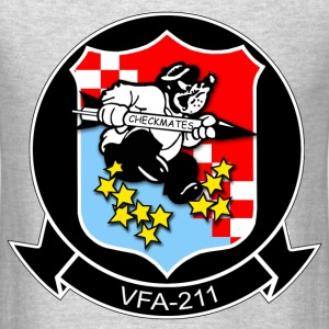 VFA-211 Checkmates Strike Fighter Squadron Shirt - Men's T-Shirt