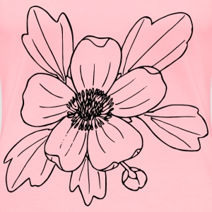 Sagebrush buttercup - Women's Premium T-Shirt