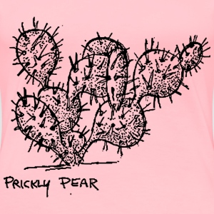 Prickly Pear Cactus - Women's Premium T-Shirt