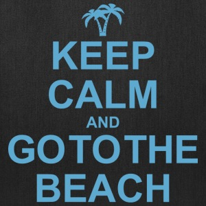 Keep Calm Go To The Beach Bags & backpacks - Tote Bag