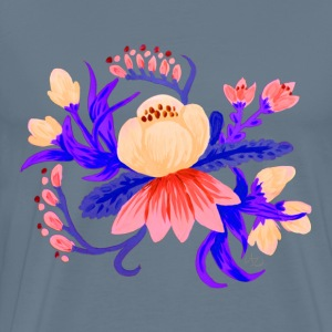 Bouquet #1, color scheme #2 - Men's Premium T-Shirt