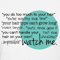 Watch Me Length Check T-Shirt