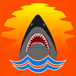 SHARK SUN T-Shirts - Men's T-Shirt