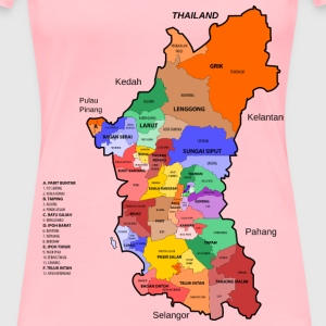 Perak State Legislative Assembly Constituencies - Women's Premium T-Shirt
