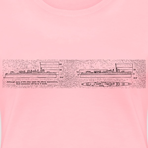 Battleship Stacker Description - Women's Premium T-Shirt
