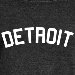 Detroit Ladies wideneck sweatshirt - Women's Wideneck Sweatshirt